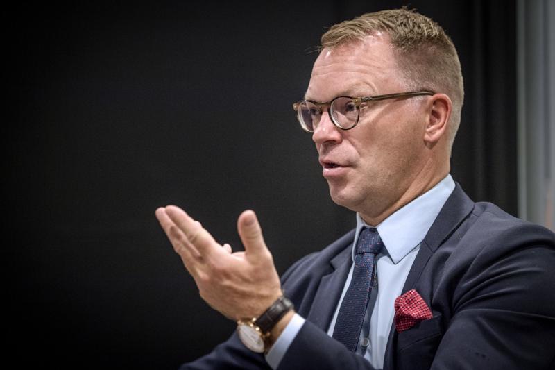 - Satama-alue teki minuun tosi ison vaikutuksen täällä Kokkolassa, toteaa OP Keski-Pohjanmaan uusi toimitusjohtaja Jyrki Rantala.