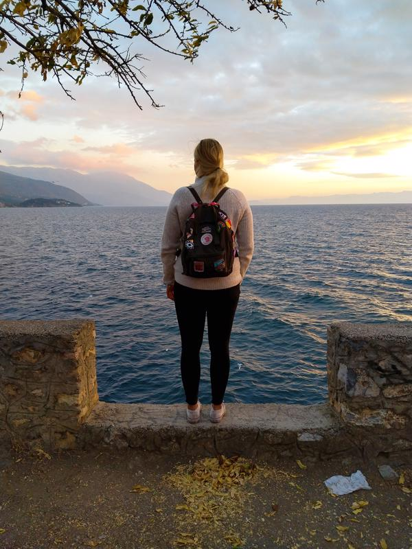 Albaniassa Riina Kiiskilä kävi Valbona-Teth-vaelluksella.