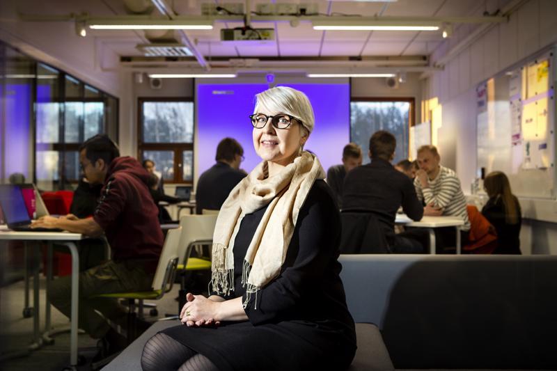 Niina Grönqvistin mukaan Talenttitehtaan tavoitteena on luoda opiskelijalle hyvät valmiudet työelämään. Hyvin sujunut kesätyö voi poikia töitä valmistumisen jälkeen.