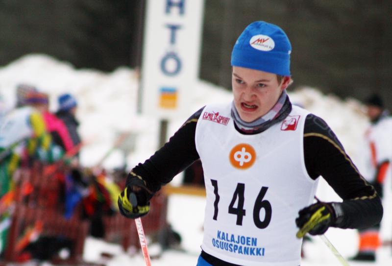Sprinttifinaalissa Mattila hiihti päivän toiseksi nopeimman aikansa 3.44.