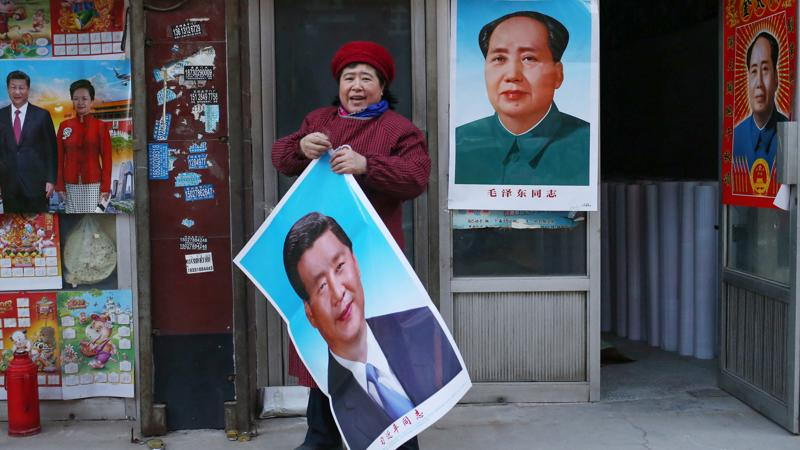 Presidentti ja puoluejohtaja Xi Jinping on Kiinan uusi Mao. Xin tavoitteena on levittää Kiinan mahtia koko maailmaan.
