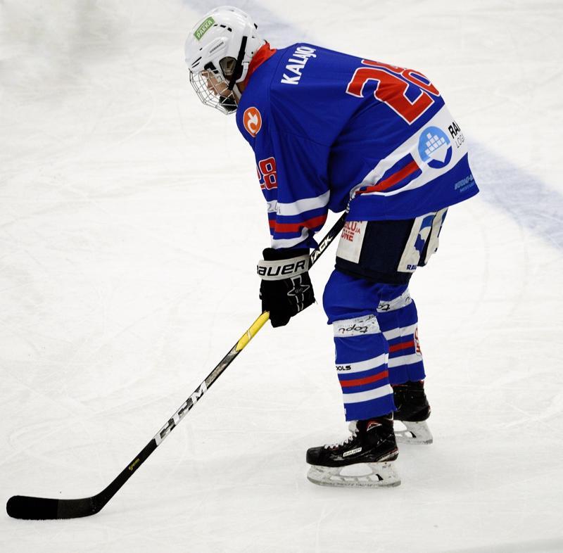 Hannes Häkkilä palkittiin pelin parhaana JHT-pelaajana.
