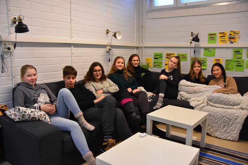 Haapaveden lukiolaiset ovat päässeeet tutustumaan Erasmus+ -projektin kautta toisten kulttuurien nuoriin.
