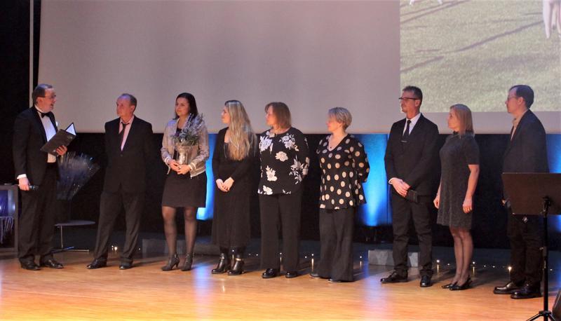 Vuoden seuraksi valittiin JKF-PKS Agility seura, joka on vuoden sisällä järjestänyt kahdet onnistuneet valtakunnalliset arvokisat.