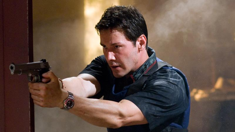 Keanu Reeves on kuumapäinen rötöskyttä Tom Ludlow Street Kings -elokuvassa.