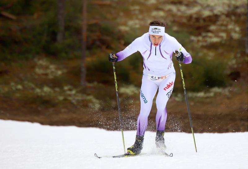 Miska Poikkimäki oli tiistaina 11. nuorten MM-kisoissa.