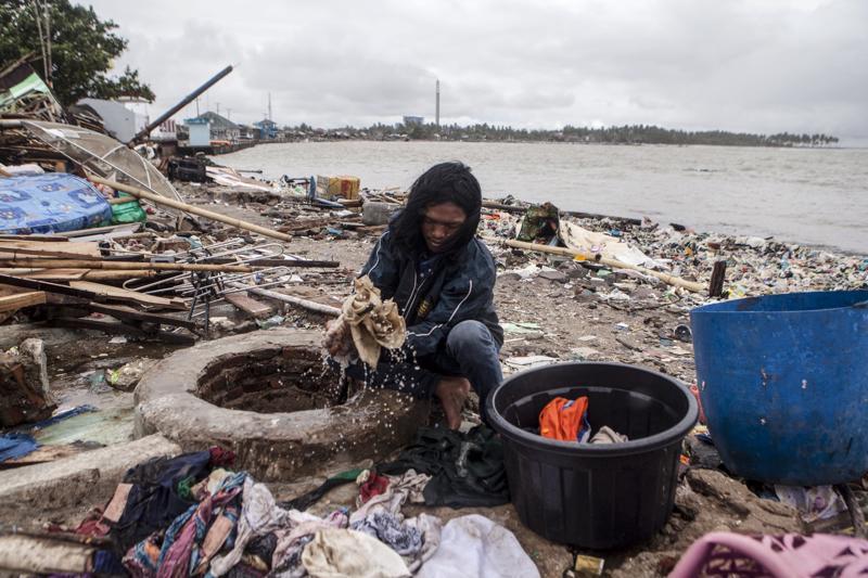 Tulivuoren purkauksesta alkunsa saanut tsunami vei joulukuussa kodin noin 40000 indonesialaiselta.