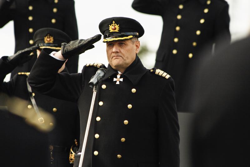 Keskusrikospoliisilla on meneillään esitutkinta, jossa selvitetään lippueamiraali
