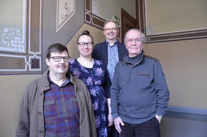 Kari Pappinen, Aino Häli, Juhani Lamminmäki ja Jukka-Pekka Rotko laajentavat käsitystä kirkkomusiikista.