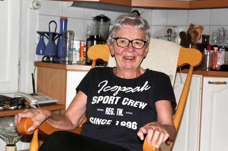 Eeva-Liisa Elorinne kuntoutuu Guillain-Barrén oireyhtymästä. Kuntoutumisessa pitää itse olla hirveän aktiivinen.