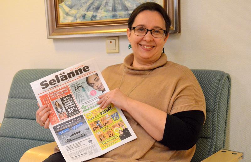 Satu Kangas-Viljamäki aloittaa Selänteen päätoimittajana 11. helmikuuta.