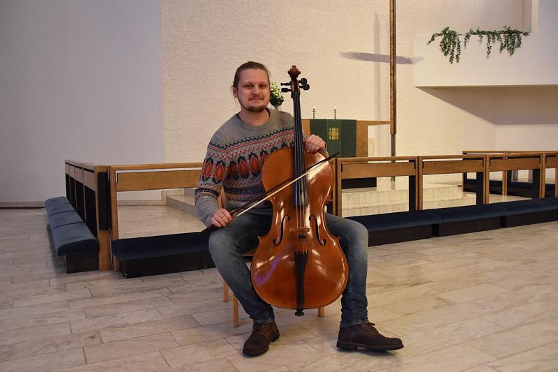 Tatu Ahola oli kotiseudulla viimeksi toissa viikonvaihteessa Folkbarock-tapahtumassa.