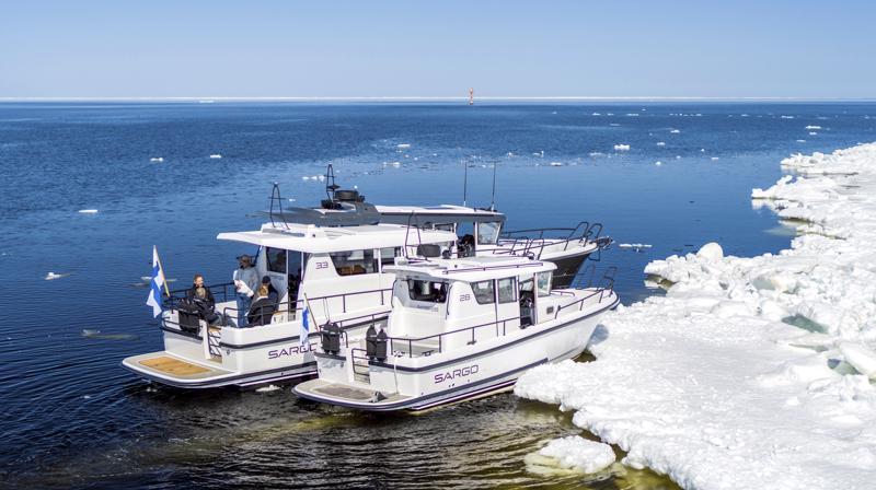 Sargo lähtee Helsingin messuille viiden venemallin kanssa.