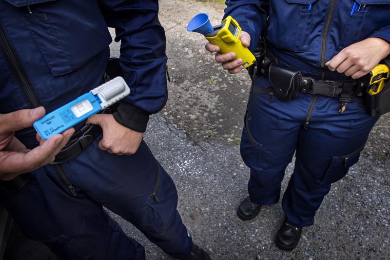 Huumekuskien määrä kasvoi jälleen viime vuonna Pohjanmaan poliisin alueella.