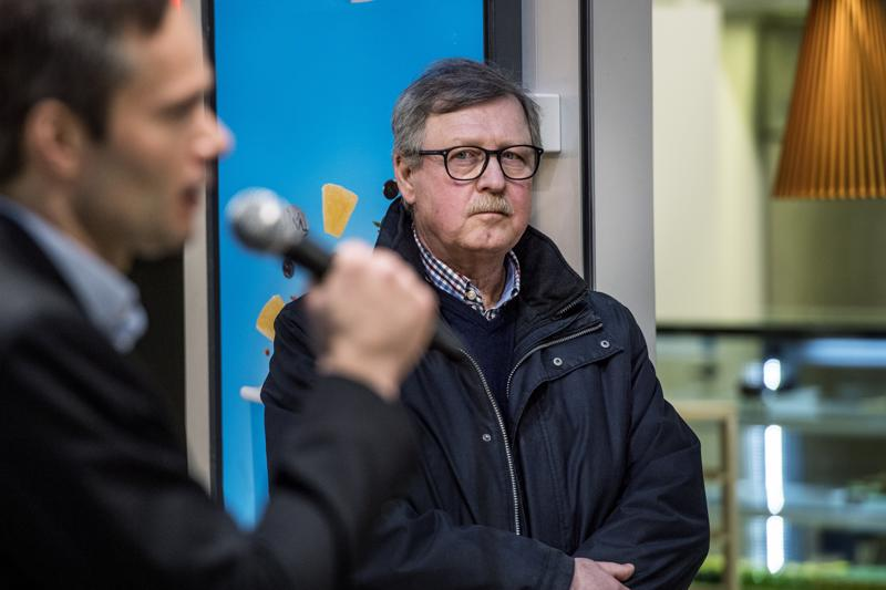 Pentti Haimakainen lähtee innolla kohti vaaleja.
