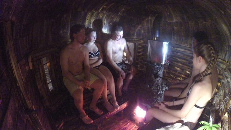 Lehtisen veljekset ovat jälleen kehittäneet uuden saunan.