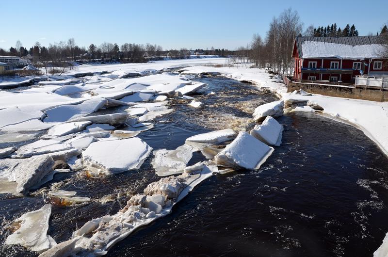 Oulaistenkosken rantoja on tarkoitus kunnostaa ja saada kaupunkilaisten käyttöön.