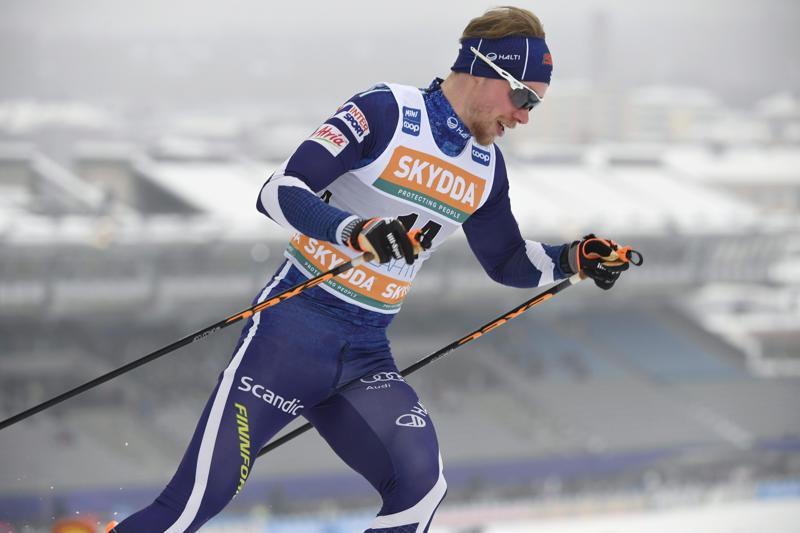 Pyhäjärven Pohtia seuratasolla edustava Joni Mäki hakee MM-laduilta talven parhaita suorituksiaan.