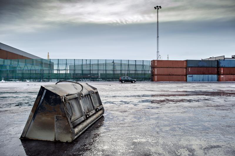 Sataman kivihiilikenttä. Kokkolan satamassa on valmistauduttu kuljetusten lisääntymiseen jo viime vuonna.