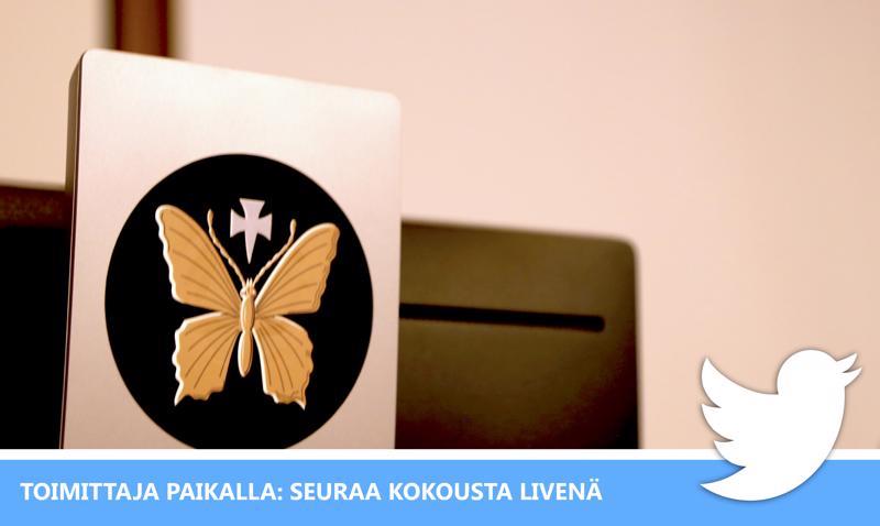 Seuraa Perhon kunnanvaltuuston kokouksen liveseurantaa.