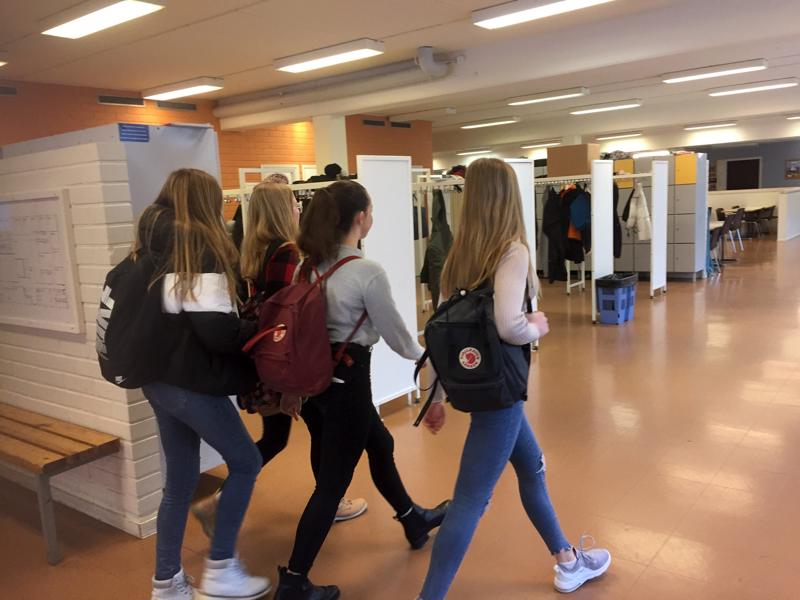 Pietarsaaren Oxhamnin koulun oppilaat siirtyvät hiihtoloman jälkeen Campus Allegron ja Optiman tiloihin.