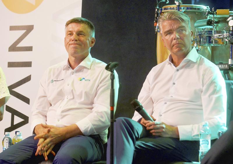 Viime kesän Nivala Areenassa muun muassa MTK:n puheenjohtaja Juha Marttila ja SOK:n kenttäjohtaja Arttu Laine pohtivat maaseudun tulevaisuutta.