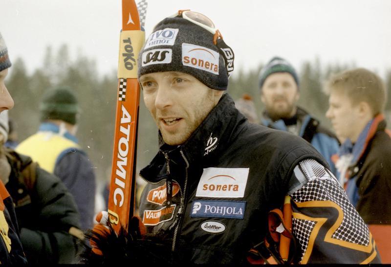 Mika Myllylä 15 vuotta sitten, vuonna 2004, Joutsassa.