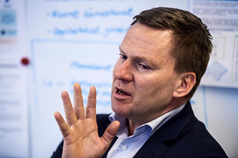Suomen Yrittäjien pääekonomisti Mika Kuismanen kävi maanantaina Kokkolassa puhumassa yrittäjien kannalta tärkeistä vaaliteemoista.