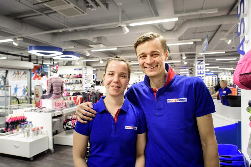 Terhi ja Tommi Martikainen haluavat tehdä kauppakeskus Chydeniasta entistä viihtyisemmän.