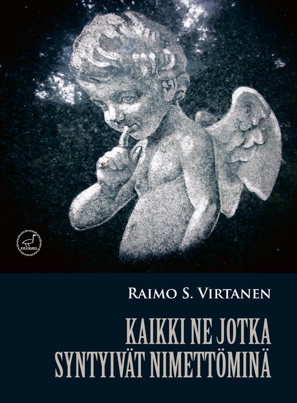 Romaanin kannen kuva on pietarilaisella hautausmaalla oleva pieni enkelipatsas, jolla on sormi huulilla kuin tietyksi merkiksi.