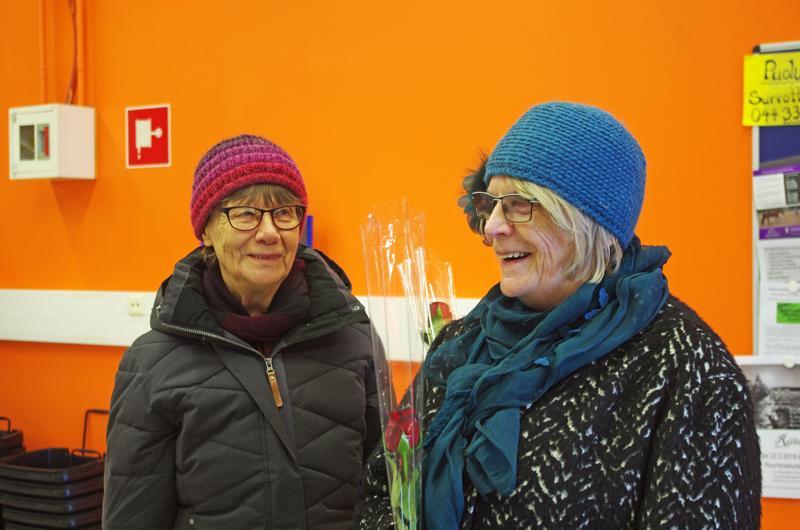 Sole Tiainen ja Pirjo Ainasoja.