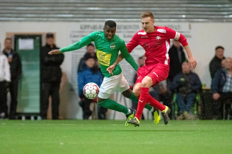 KPV Suomen Cupin ottelussa Jaroa vastaan Kokkolassa 9.3.