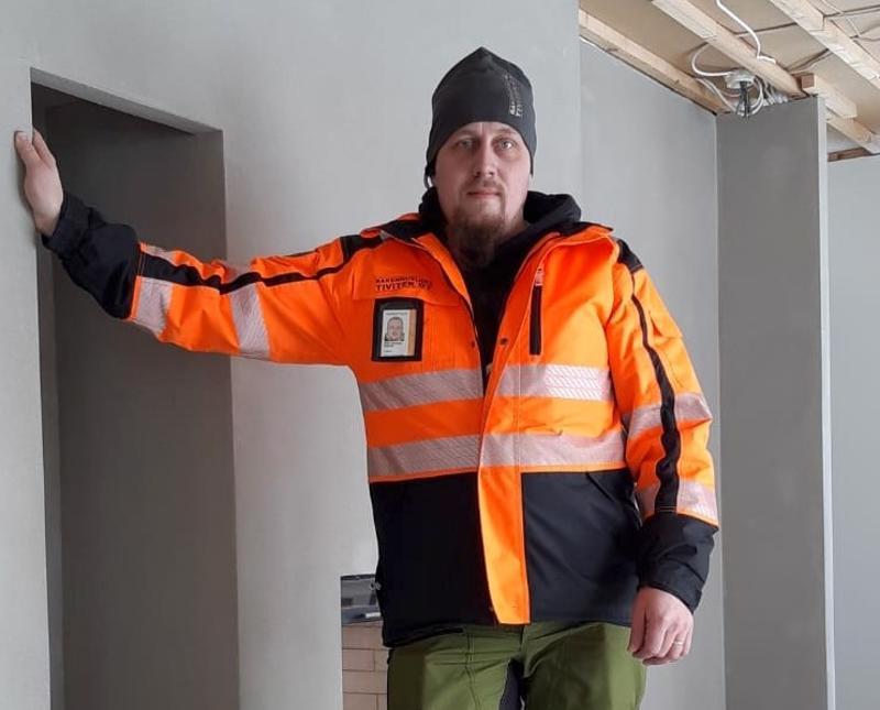 Pohjois-Pohjanmaan yrittäjien valitsema Vuoden nuori yrittäjä 2019, Antti Heikkilä.