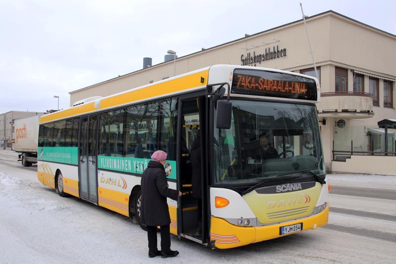 Seiskan bussi on osa kaupunkihistoriaa.