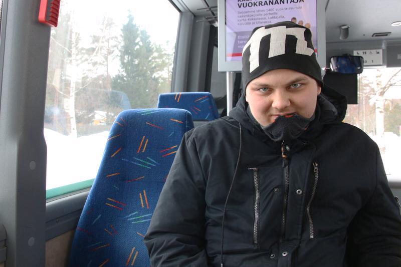 Joni Myllymäki matkusta Koivuhaasta Energiatielle.
