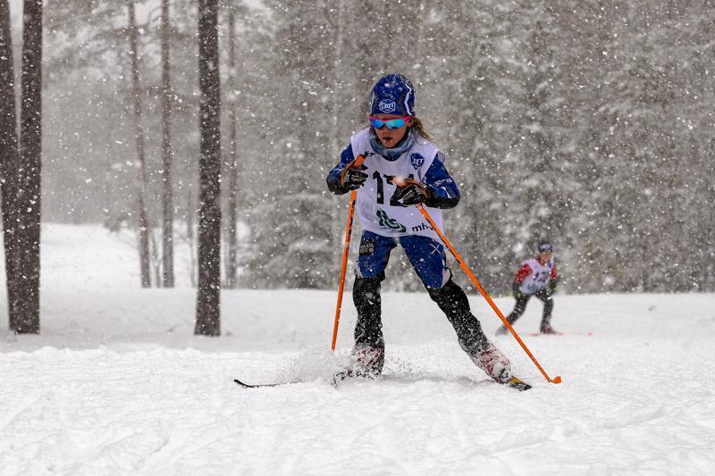 Eedith Törmänen hiihti Limingassa ylivoimaiseen voittoon. Arkistokuva.