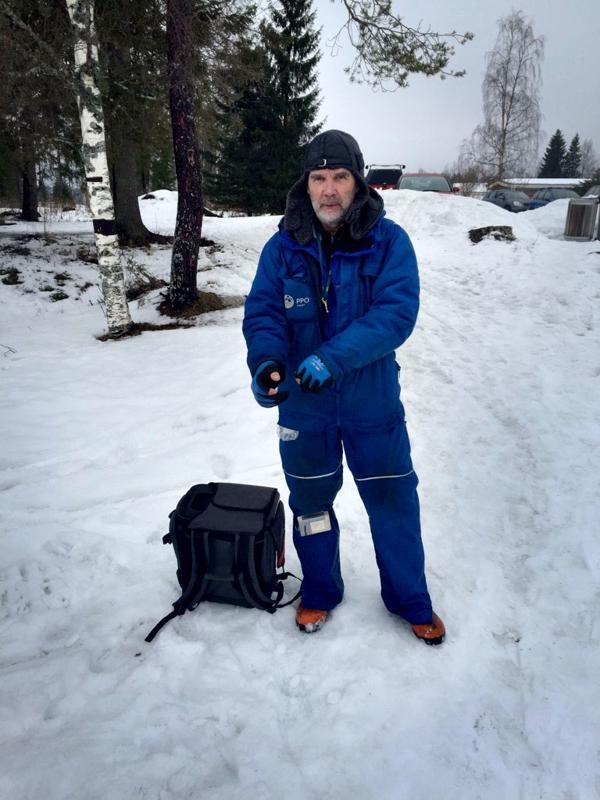 Matti Autiola voitti Kirkkojärven pilkkikisan 4230 gramman saaliilla.