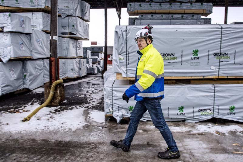 UPM:n Alholman sahan paikallisjohtajan Mika Åbyn mukaan brexitin vaikutukset jäävät Pietarsaaressa vähäisiksi.