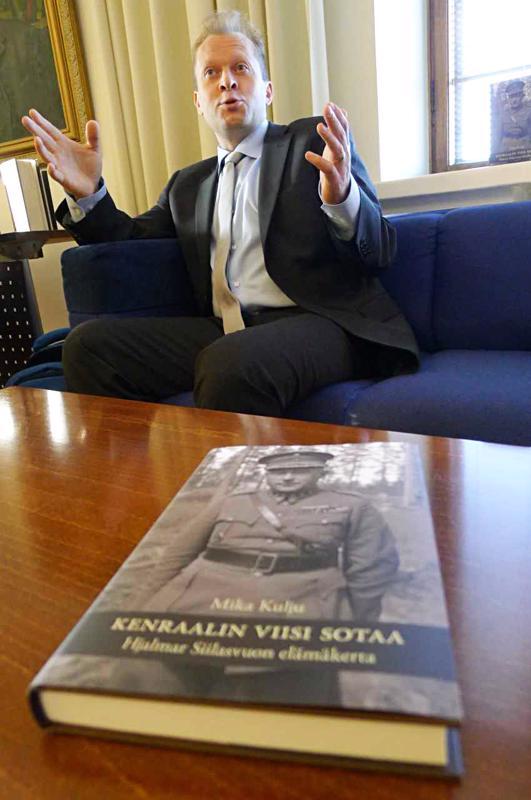 Deadline on suuri inspiraationlähde  kirjailija Mika Kuljulle.