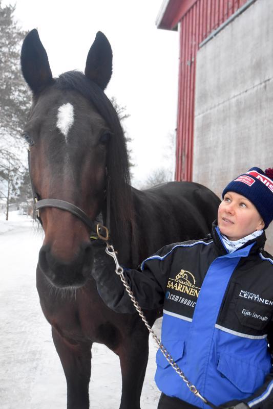 Ylivieskan Niemelänkylällä hevosia treenaavan Eija Sorviston valmennettavat olivat iskussa Oulussa. Mr Money Maker palasi kilparadoille lähes vuoden tauolta.
