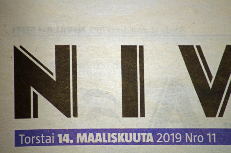 Posti ei jakanut viime viikon Nivala-lehtiä monin paikoin edes perjantaina.