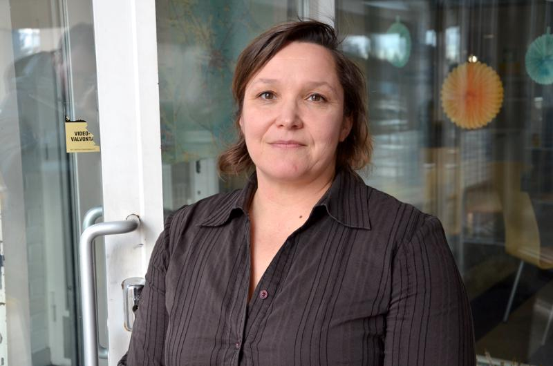 Kati Hämäläinen-Myllymäki jäi virkavapaalle Ylivieskan virastaan jo viime elokuussa.