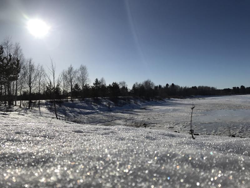 Viime keväänä tulva koetteli Alavieskaa. Tälle keväälle ennustetaan suuruudeltaan keskimääräistä tulvaa.