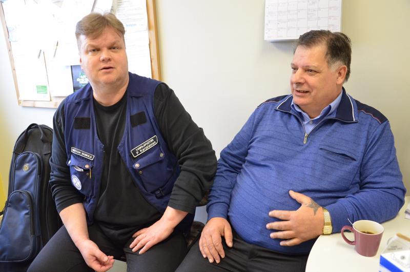 Sukevan vankilapastori Pasi Karjalainen arvostaa Valte Långströmin ja muiden hengellisten vierailijoiden työpanosta.