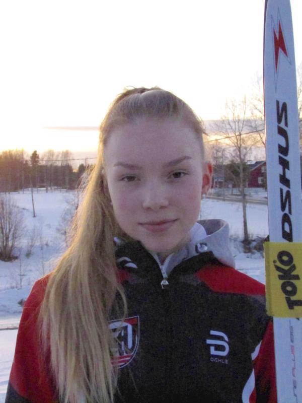 Iidan talvet kuluvat hiihtoharjoitellen ja  kesällä lenkkeillen ja rullahiihtäen.