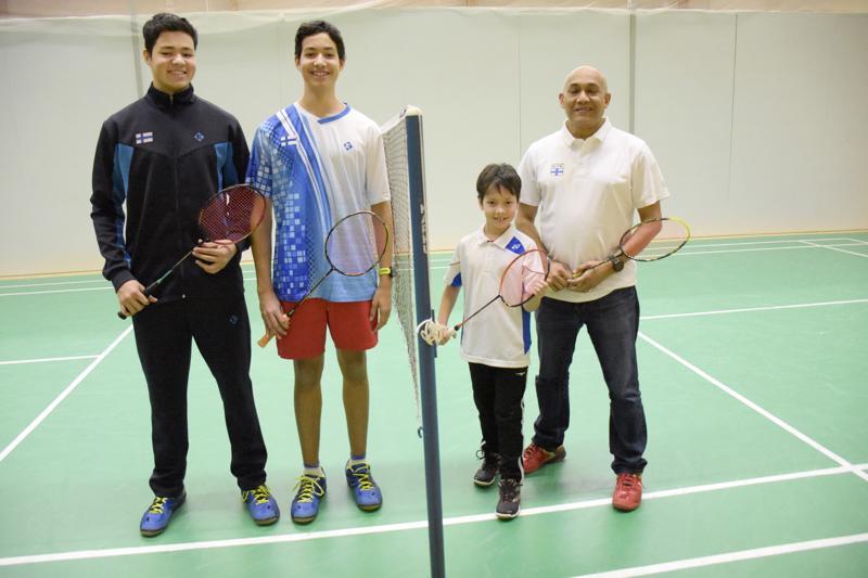Emranin nelikko Safin, Zafir, Shuzon ja Mohammad osallistuivat kaikki viikonlopun kilpailuun.