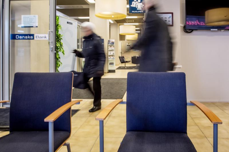 Danske Bankin Kokkolan konttori.
