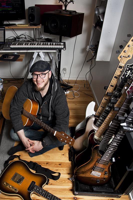 Ville Palin ei ole yhden kitaran mies.