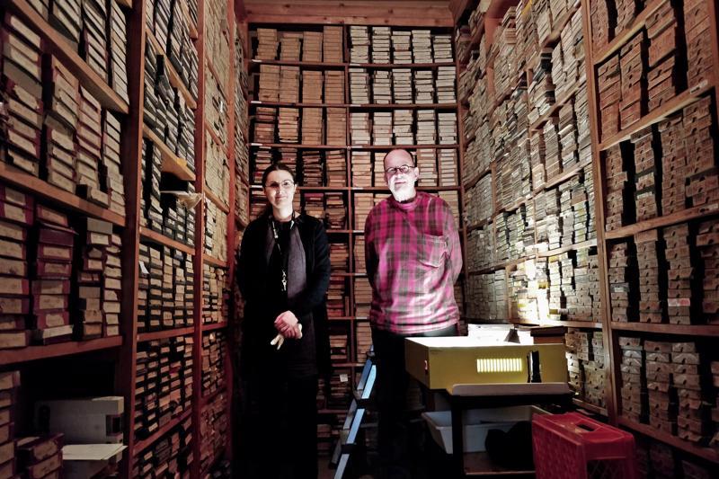 Silvia Rinne, Jens-Ole Hedman ja  valokuvaaja August Kjerulfin arkisto -  noin 100 000 lasinegatiivia.
