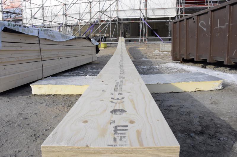 Liimapuupalkit ovat tärkeä lisä talon kantavassa rakenteessa.